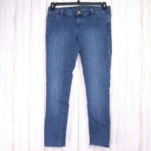 Michael Kors Blue Skinny Jeans Size 4 Womens